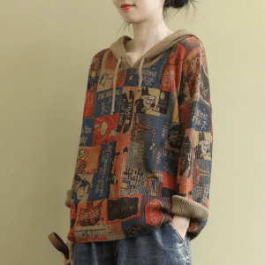 pull ethnique pour femme