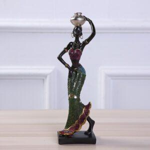 Statue ethnique africain Jalia boheme