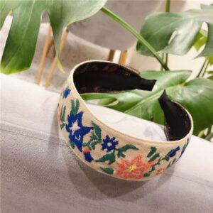 Headband ethnique coréen flower chic