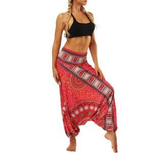 pantalon ethnique fluide
