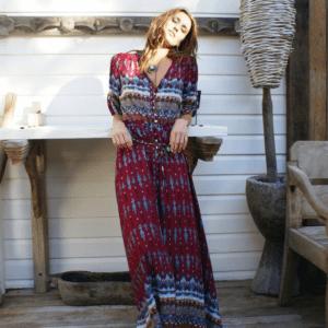 maxi robe ethnique
