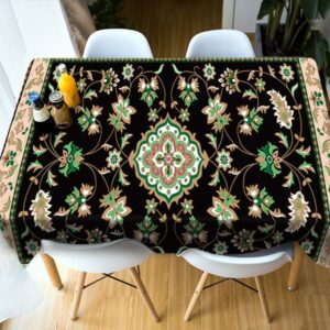Nappe ethnique ancienne traditionnel chic