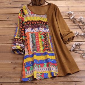 tunique ethnique colorée
