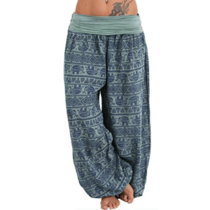 pantalon yoga ethnique