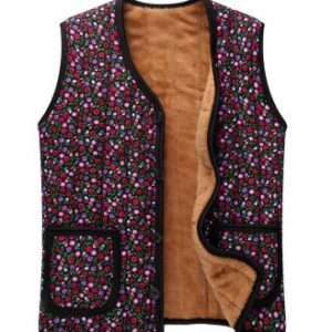 Gilet ethnique style chic