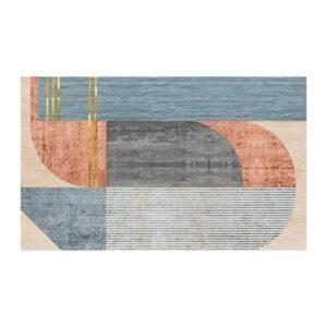 tapis ethnique flanelle harmonie chic