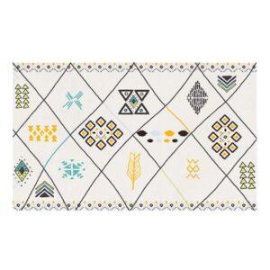 tapis ethnique deco