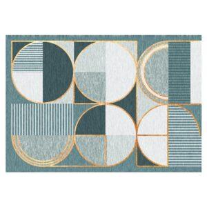 tapis ethnique coton