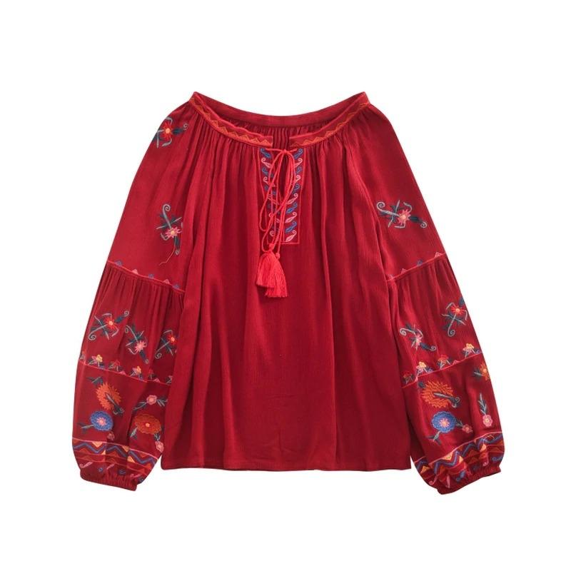 blouse ethnique coton