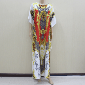 robe ethnique brodée