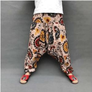 pantalon ethnique femme chic