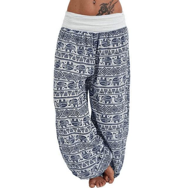 pantalon ethnique en tissu