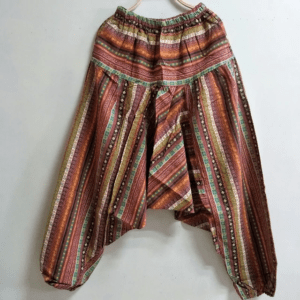 pantalon ample ethnique