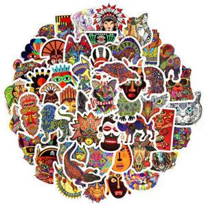 Stickers ethnique africain