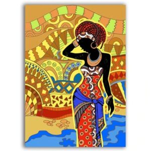 Tableau ethnique traditionnel