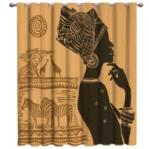 Rideau ethnique Afrique Obuasi boho