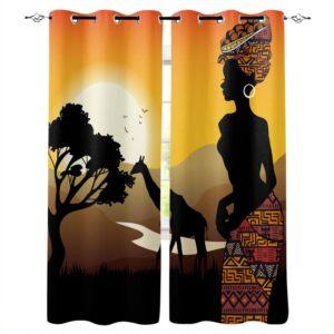 Rideau ethnique Afrique Kita chic