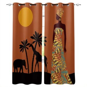 Rideau ethnique Afrique Nianing chic