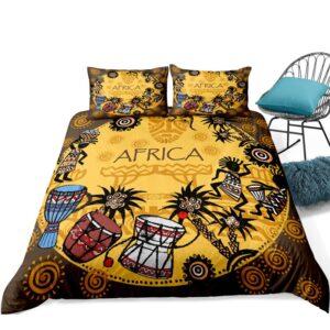 Housse de couette ethnique Afrique djembé chic