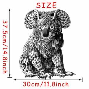 Stickerethniquemurale koala chic