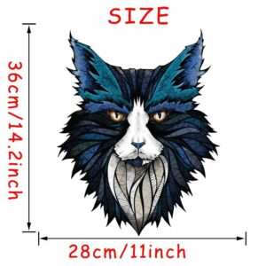 Stickerethniquemurale lynx chic