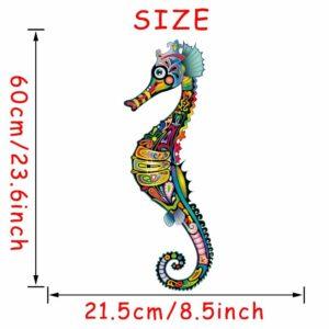 StickerethniquemStickerethniquemurale hippocampe chicural hippocampe boheme