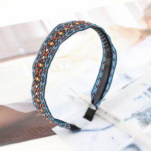 Headband ethnique mosaïque chic