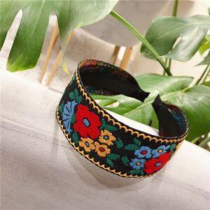 Headband ethnique coréen vintage chic