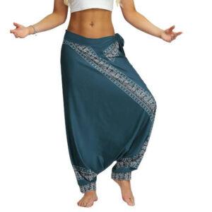 pantalon ethnique femme grande taille