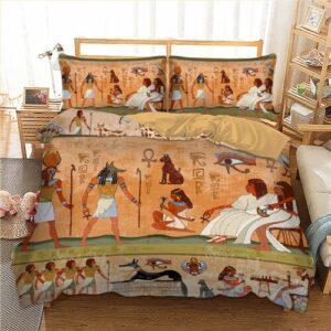 Housse de couette ethnique Antique peint boheme