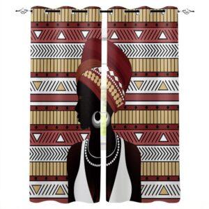 Rideau ethnique Aflao