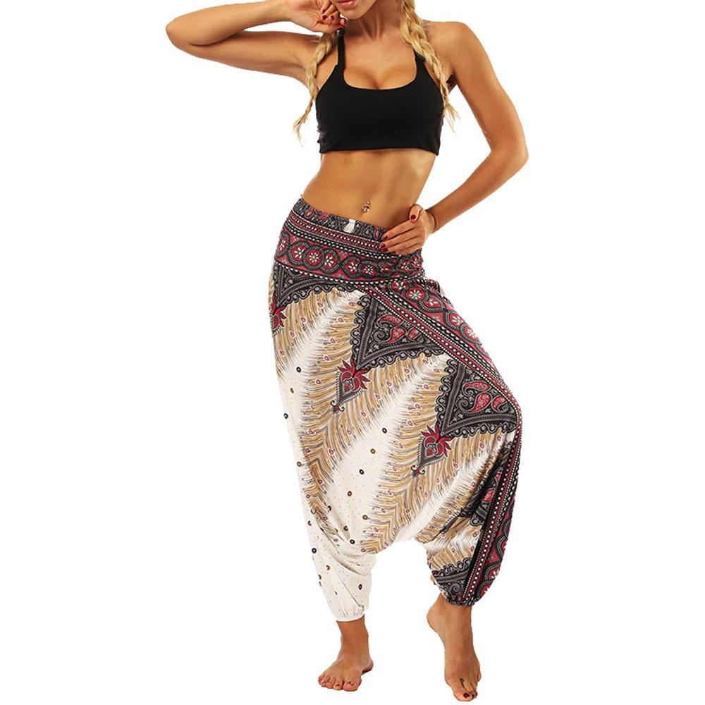 pantalon ethnique grande taille