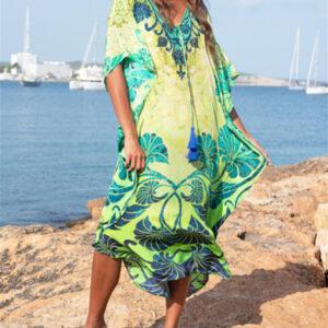 robe ethnique chic longue
