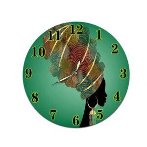 Horloge murale ethnique