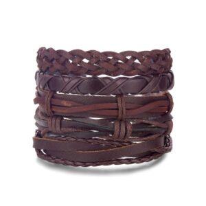 bracelet cuir homme ethnique