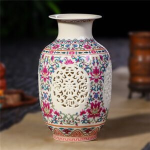 Vase ethniqueGuizhou rouge chic