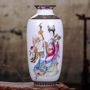 Vase ethnique chinois grandpa chic