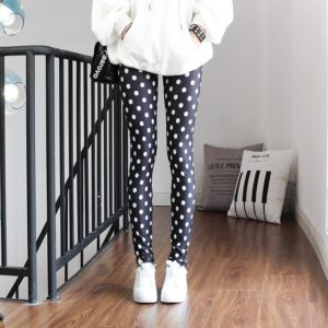 Legging ethnique pois chic