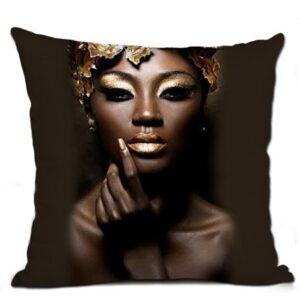 Housse de coussin ethnique Africaine Assa chic