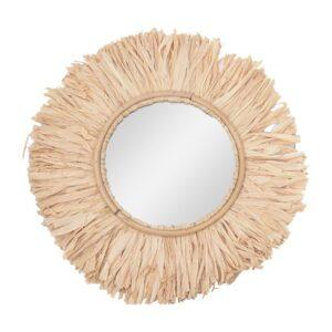 Miroir ethniquebohèmepaille chic