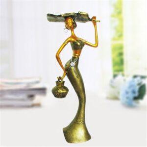 Statue ethnique africain Iris chic