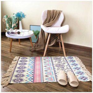 tapis ethnique de couleur