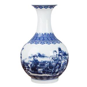 Vase ethnique chinois Shaanxi boheme