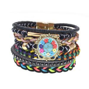 Bracelet ethnique bohème art chic
