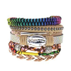 Bracelet ethnique bohème fantasy chic