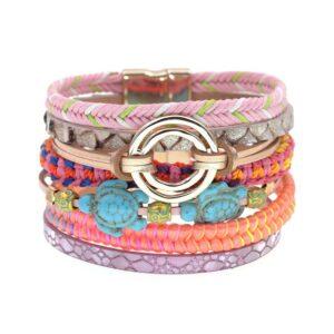 Bracelet ethnique bohème fantaisie chic