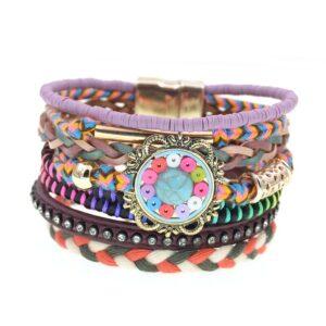 Bracelet ethnique ancienne chic