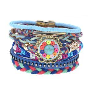 Bracelet ethnique bohème mandala chic