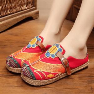 Sandale ethnique tibétain Chamdo chic