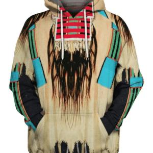 Pull ethniqueamérindien Acjachemen chic